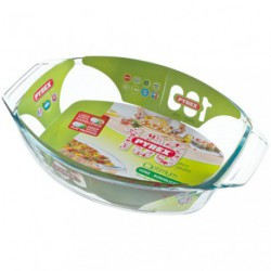 PLAT FOUR OVALE 35X24 OPTIMUM PYREX