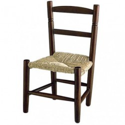 CHAISE ENFANT HETRE MARRON