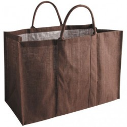SAC A BUCHES JUTE MARRON