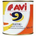 AVI 9 SATIN 0.5L BLANC