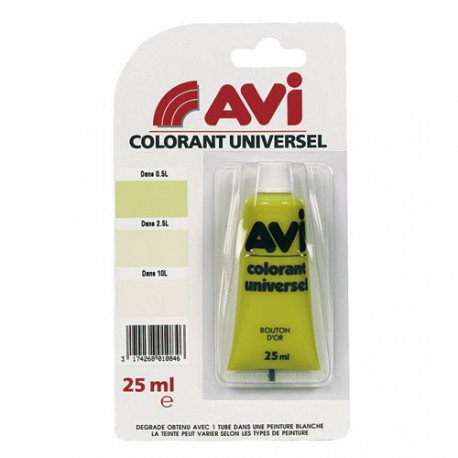 AVI COLORANT UNIV. 25ML BOUTON D OR