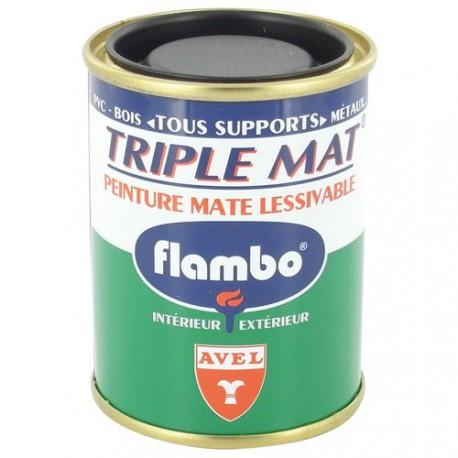 TRIPLE MAT PEINT.FLAMBO 100ML BLANC