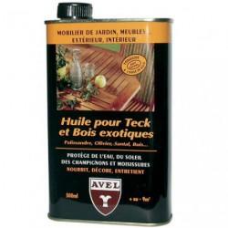 HUILE POUR TECK/B.EXOTIQUE 500ML AVEL