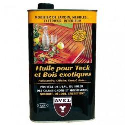 HUILE POUR TECK/B.EXOTIQUE  1L AVEL