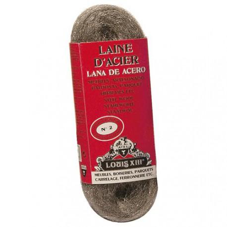 LAINE D'ACIER LOUIS13 2 DECAPAGE 200GR
