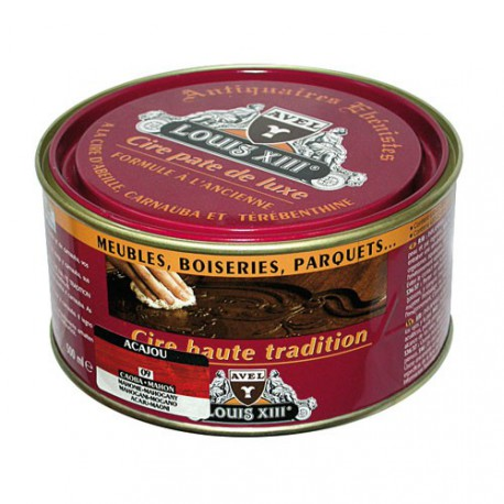CIRE PATE LOUIS 13 500ML ACAJOU
