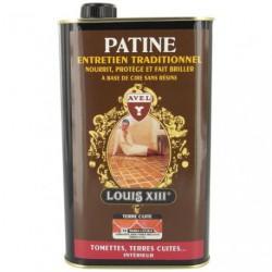 PATINE CARRELAGE LOUIS13 1L TERR.CUITE