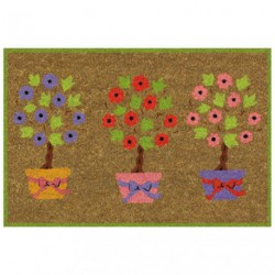 TAPIS COCO COLL.NATURE.NATUREL.40X60AS