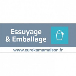 PANNEAU FAMILLE ESSUYAGE & EMB.65X25