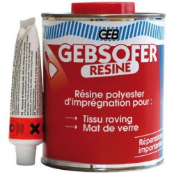 GEBSOFER RESINE BIDON 500ML