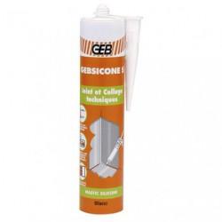 GEBSICONE S SILICONE C.310ML BLANC