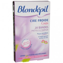 CIRE FROIDE DEPILATOIRE 20BAND+LING557