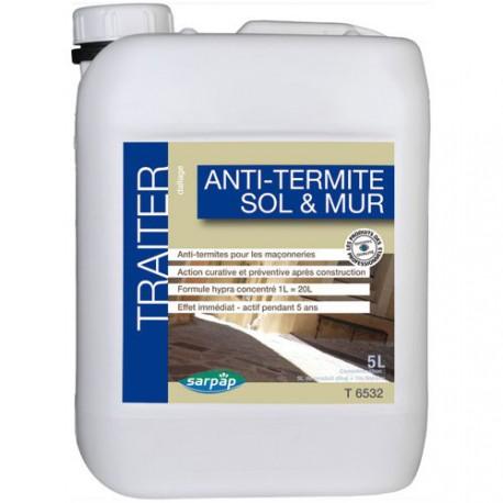 anti termite sols et murs 5l maison de la droguerie. Black Bedroom Furniture Sets. Home Design Ideas