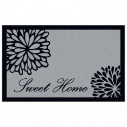 TAPIS ABSORBANT GRAPH.50X76 HOME SWEET