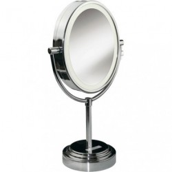 MIROIR LUMINEUX OVALE GROSSISSANT X7