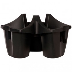 POT ANTHRACITE CROWN EMPILABLE 48X26.4