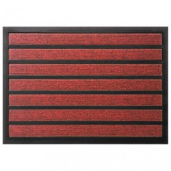 TAPIS COMBI ABSORBANT ROUGE 40X60CM