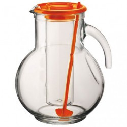 CARAFE KUFRA COUVERCLE ORANGE 2L