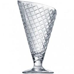 COUPE A GLACE GELATO TRANSPAR.28CL X2