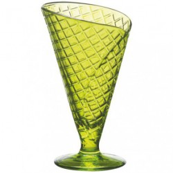COUPE A GLACE GELATO VERT 28CL