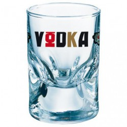 GOBELET VODKA BAS 5CL X6 DECORE
