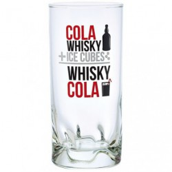 GOBELET COLA WHISKY 27CL X6 DECOR