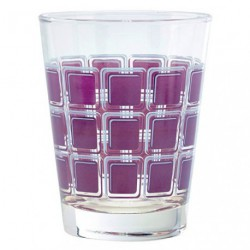 GOBELET HOME SQUARE PURPLE X6