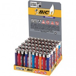 BRIQUET BIC J25MINI ASS.PRES/50   ASS.
