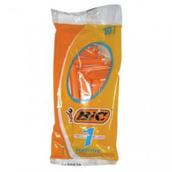 RASOIR BIC POCH.10 SENSIBLE     ORANGE
