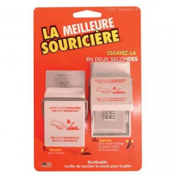 LA MEILLEURE SOURICIERE BLISTER/2 3202