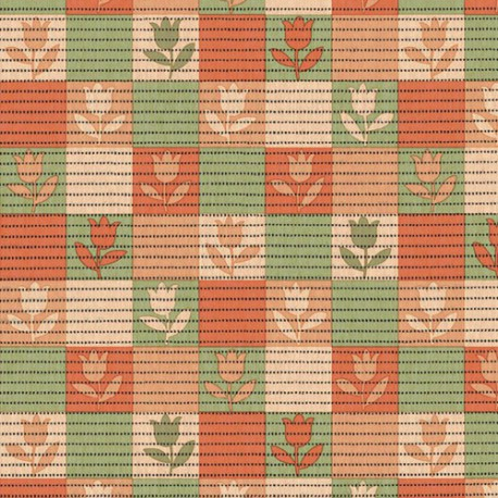 SMARTY TAPIS MOUSSE ORANGE VERT AU ML