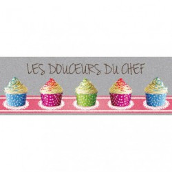 TAPIS DECOR CUISINE DOUC.CHEF 40X116CM