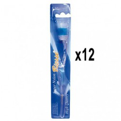 BROSSE A DENT PVC MEDIUM X12 CRISTAL