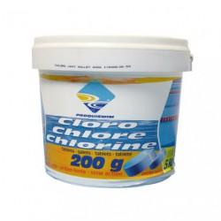 CHLORE LENT GALETS 5KG         8002051