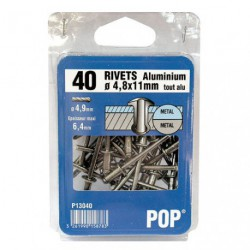 RIVET POP ALU D.4.8X11   C/40