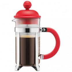 CAFETIERE BODUM CAFFETTIERA 3T ROUGE