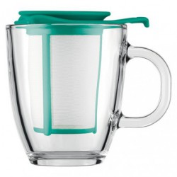 SET MUG YOYO COLOURS VERRE FILTRE 0L35