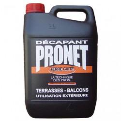 PRONET DECAPANT TERRE CUITE 5L