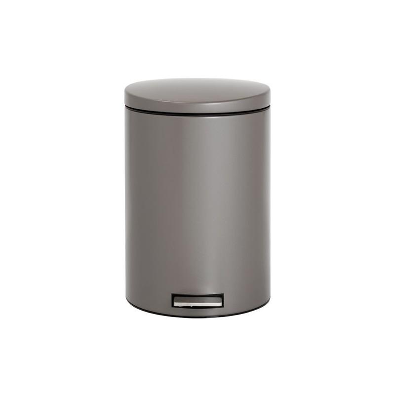 poubelle a pedale 20l motion platinui maison de la droguerie. Black Bedroom Furniture Sets. Home Design Ideas