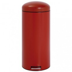 POUBELLE RETRO BIN 30L MOTION PAS.RED