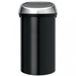 TOUCH BIN POUBELLE 60L MATT BLACK