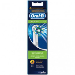 BROSSETTES X3 CROSSACTION ORAL.B