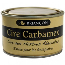 CIRE PATE CARBAMEX ANTIC FONCE 400G