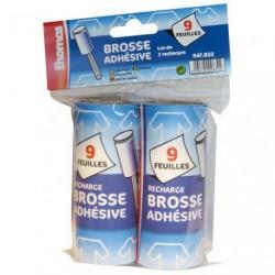 RECHARGE BROSSE ADHESIVE X2