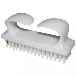 BROSSE ONGLES NYLON 1 FACE A POIGNEE