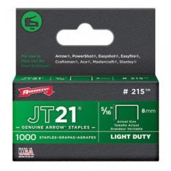 AGRAFES JT21  8MM X1000            215