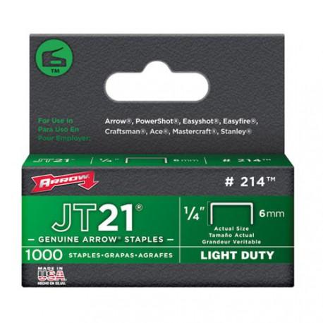 AGRAFES JT21  6MM X1000            214