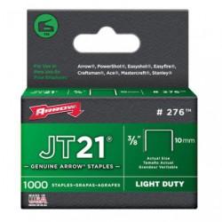 AGRAFES JT21 10MM X1000            276