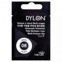 TEINT.DYLON TS TISSUS NOIR        8008
