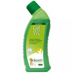 SOLUVERT DETARTRANT GEL WC 750ML